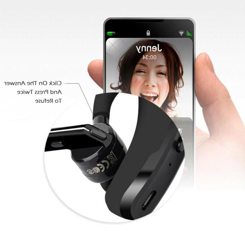 Wireless Earbud Bluetooth Headset Stereo Handfree
