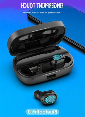 Wireless Bluetooth Earphones 9D Earbuds & Power