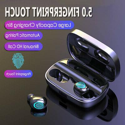 Wireless Headphone 5.0 TWS Bluetooth Earbuds