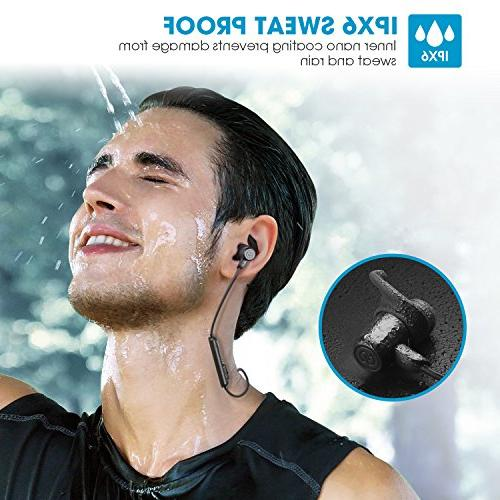 SoundPEATS Earbuds Bluetooth Headphones Sport Sweatproof Earphones