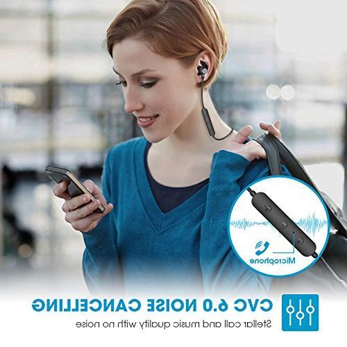 SoundPEATS Bluetooth Headphones Sport Sweatproof