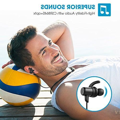 SoundPEATS Bluetooth Sweatproof with Mic