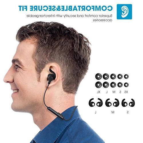 SoundPEATS Wireless Bluetooth Sport Sweatproof Earphones