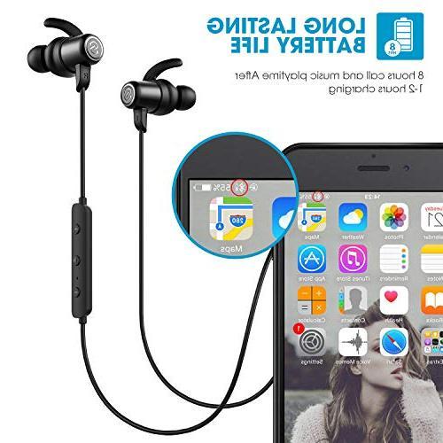 SoundPEATS Wireless Earbuds Bluetooth Headphones Sweatproof with