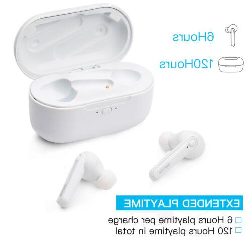 Wireless Bluetooth Auto-Pair Earbuds Touch