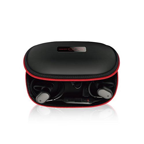 wireless headphones charging case earphones