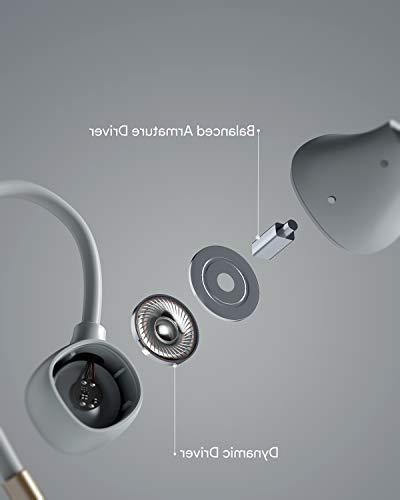 AUKEY Wireless Key Series Bluetooth with Hybrid Low Latency, Sound, IPX6 in 8-Hour Battery