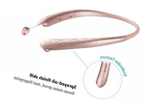 Rioddas Headphones Retractable Earbuds Sport 2DAY