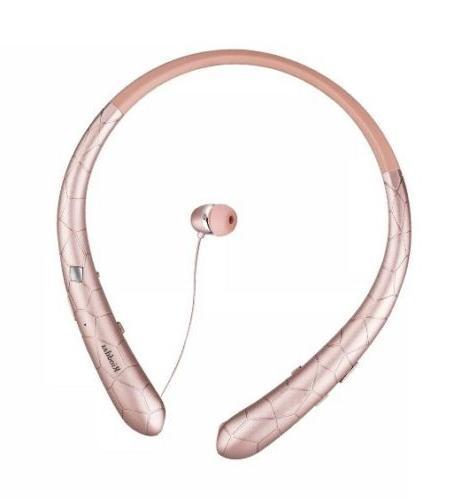 wireless headphones retractable earbuds sport neckband 2day