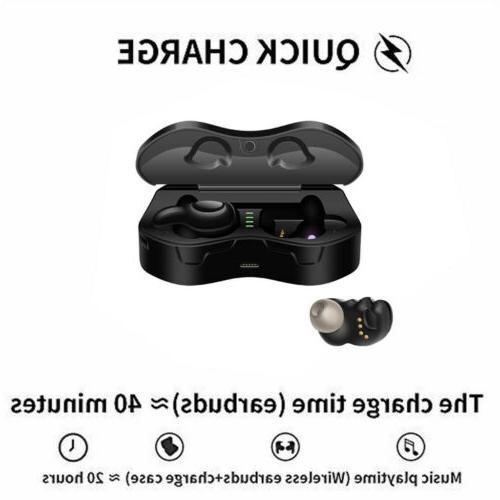 Wireless Headphones TWS Stereo Earphones for IOS Android