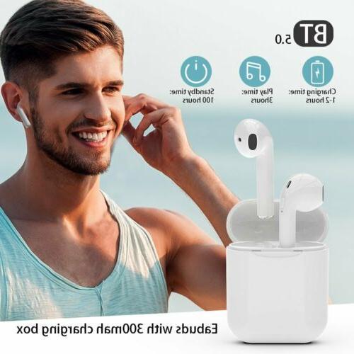 i7s i9s iPhone Bluetooth 5.0 w/ Wireless Earphones