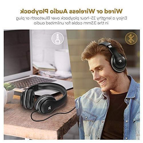 Bluetooth with Ear Pads Dual 40mm