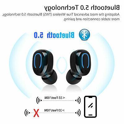 Wireless Headsets Headphone Earbuds Noise