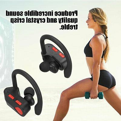 Wireless Stereo Bluetooth Headset Headphone Sports