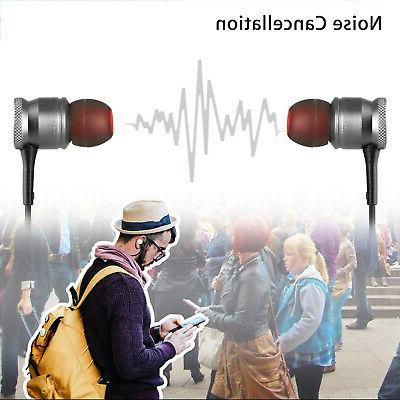 Wireless Stereo Sports Earphone Earbuds Metal Magnet
