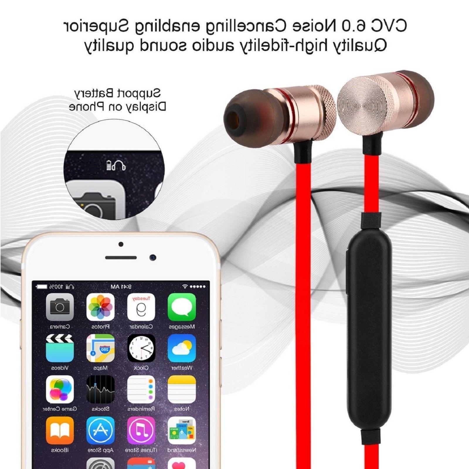 Wireless In-Ear Stereo Earphones Headset Headphones