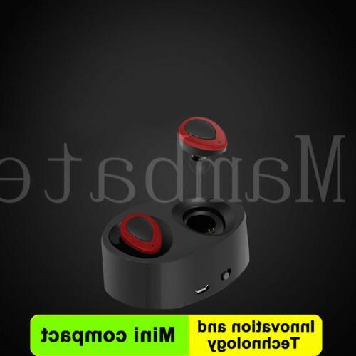 Wireless TWS Bluetooth Stereo Earphone Earbuds