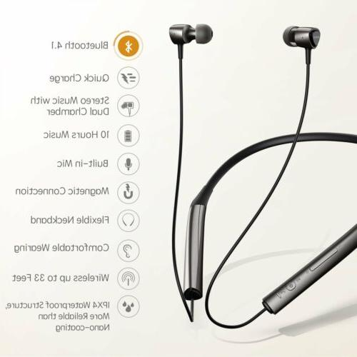 Mpow X2.0 Bluetooth Magnetic Waterproof