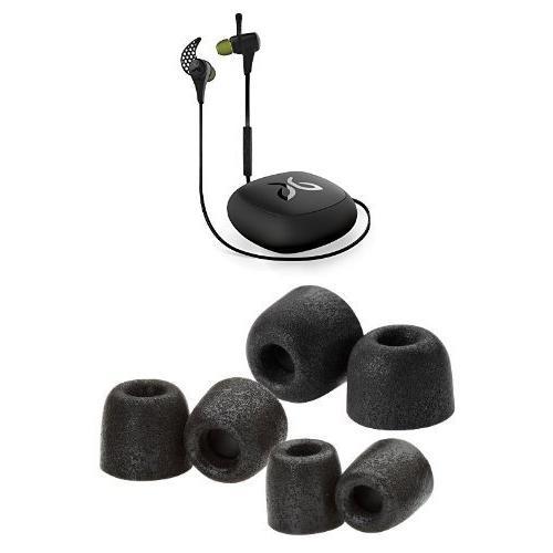 x2 midnight black comply earphone