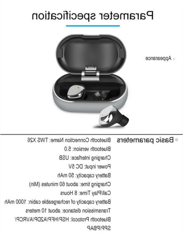 X26 TWS Wireless Smart Waterproof Stereo
