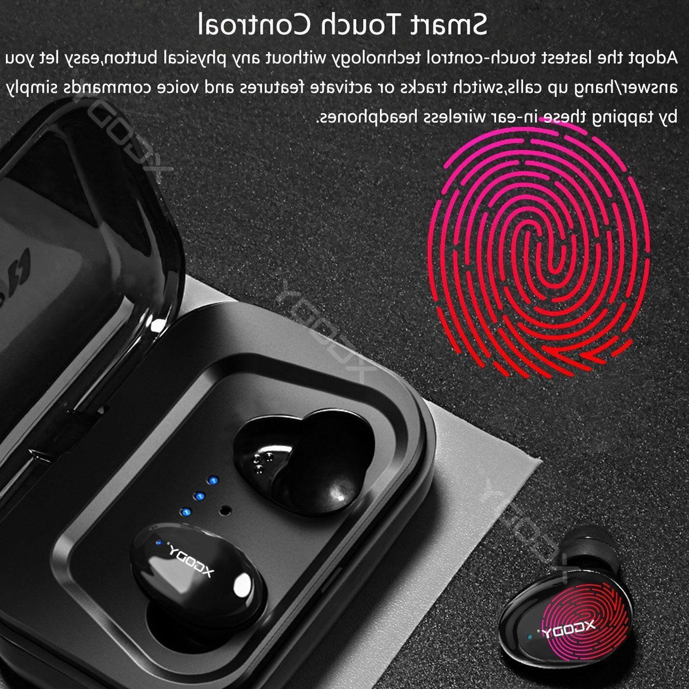 XGODY Mini Wireless Earbuds Cancelling Headphone