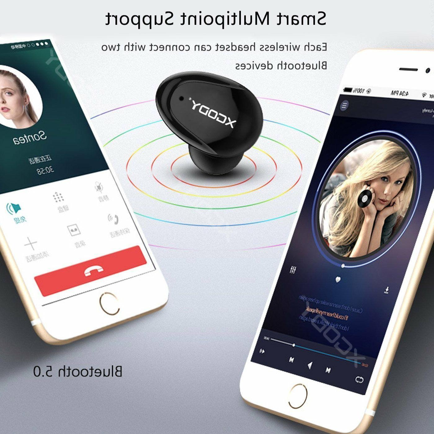 XGODY Mini Earbuds Headset