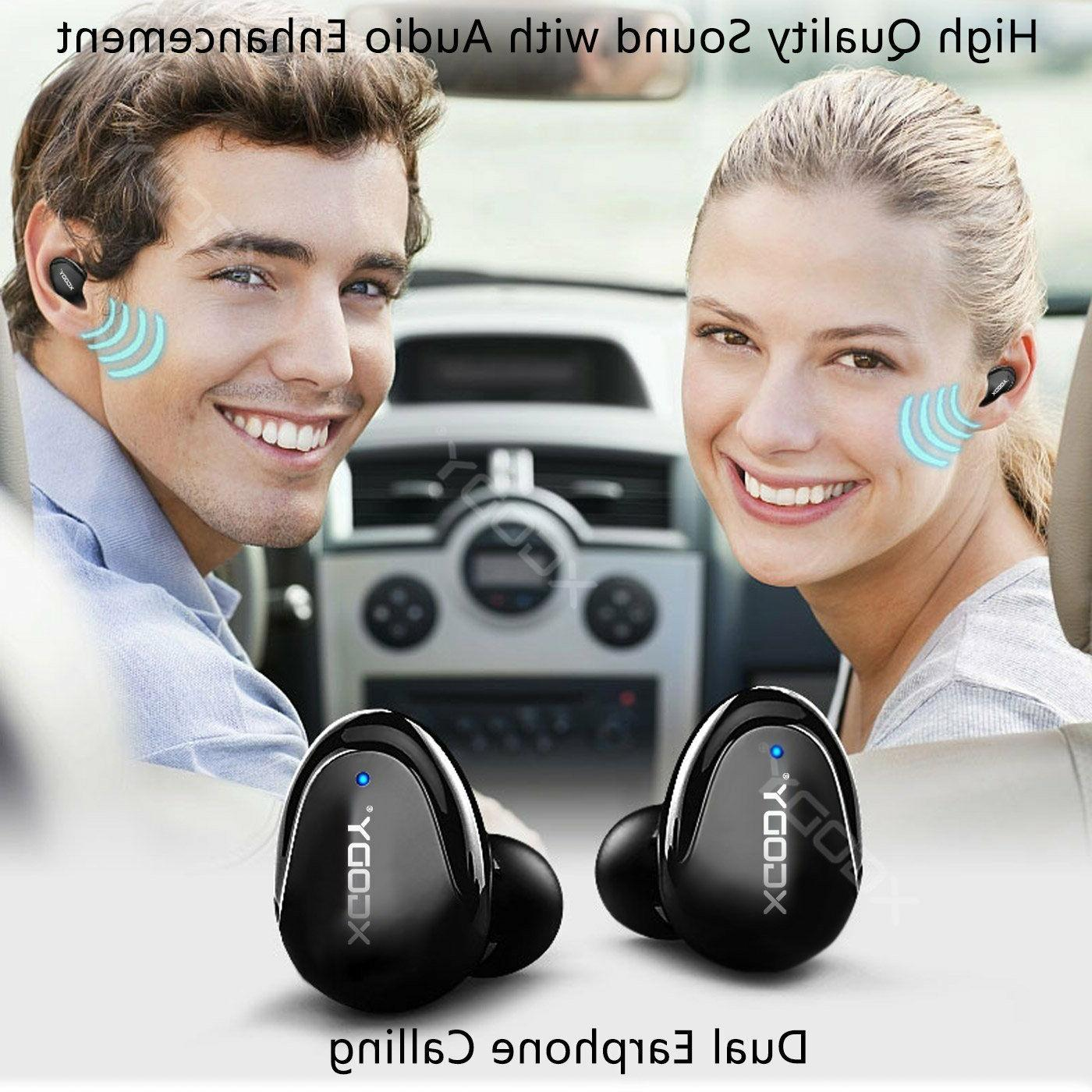 XGODY Mini Earbuds Stereo Cancelling