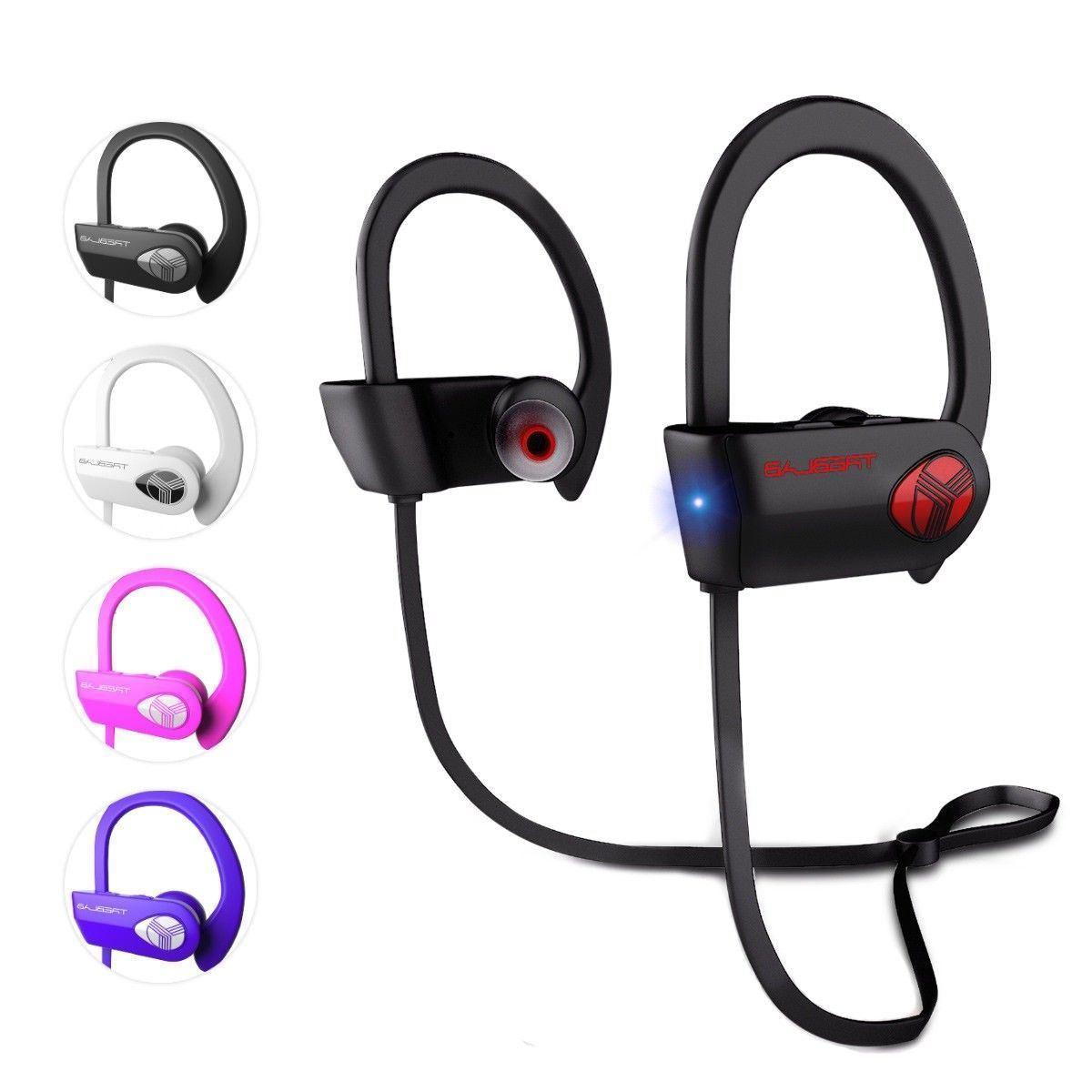 TREBLAB XR500 Bluetooth Headphones Best Wireless Sports Earb