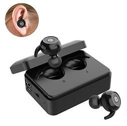 Le Freshinsoft Wireless Bluetooth Earbuds True Twins HD Ster