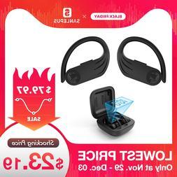 SANLEPUS Led Bluetooth Earphone <font><b>Wireless</b></font>