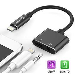 Lightning Adapter Headphone Jack 3.5mm iPhone dongle Audio A
