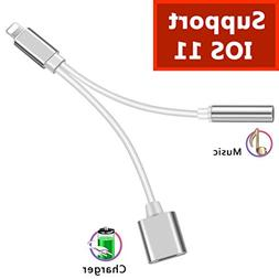 Lightning Adapter Jack Headphone Adaptor for iPhone 8/8 Plus