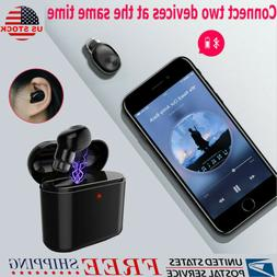 Lightweight Mini Wireless Bluetooth Earphone Earbuds With Ch