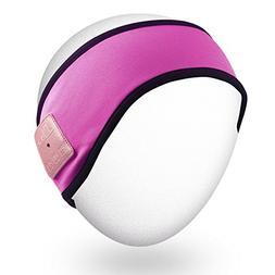 Rotibox Lightweight Sweatproof Bluetooth Headband Headphone
