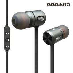 Magnet Wireless Bluetooth Headphone In-Ear Earbuds Extra Bas