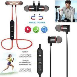 Magnet Wireless BT4.1 Running Sport Headset Earphone Earbuds