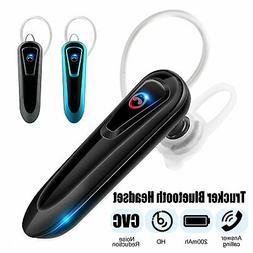 Bluetooth 5.0 Wireless Earpiece Noise Cancelling Driving Tru