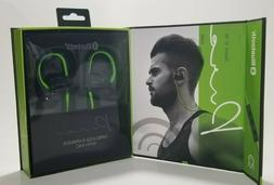 Mental Beats 72323 Pure Wireless Earbuds with Mic Green/Blac