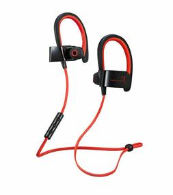 1994320918b084 Editorial Pick Mental Beats 72324 Pure Wireless Earbuds with Mic Red/Black