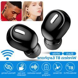 Mini In-Ear Wireless 5.0 Bluetooth Earphone Noise Reduction