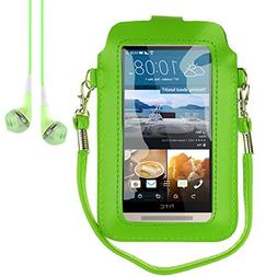 Mini PU Leather Touch Screen Window Wallet Case for BLU Dash