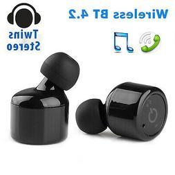 Mini True Twins Bluetooth Earphones Wireless Headphone Super