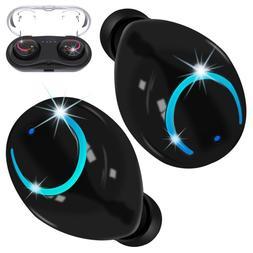 Mini True Wireless Twins Bluetooth Earbuds In-Ear Stereo Ear