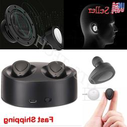 Mini True Wireless Twins Bluetooth Earbuds In-Ear Stereo Ear