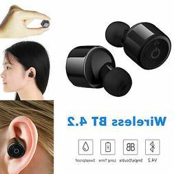 Mini Wireless Bluetooth 4.2 HIFI Sports Stereo Twins Earphon
