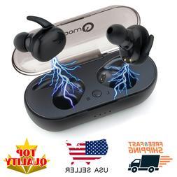 Mini Wireless Bluetooth 5.0 Earbuds True Bass Twins Stereo I
