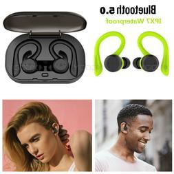 Mini Wireless Bluetooth 5.0 Earbuds Waterproof Headset Stere