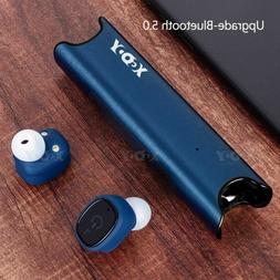 Mini Wireless Bluetooth Earbuds Deep Bass Twins Headset Ster