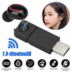 Mini Wireless Bluetooth Earbuds In-Ear Headset Earphone Earp