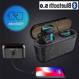 Mini Wireless Earbuds Bluetooth 5.0 Headphone Sport Earpiece